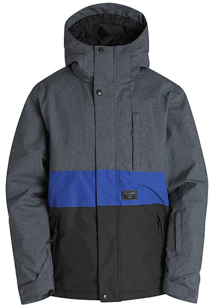 ab8fcbe3bfdf BILLABONG BOYS ICICLE SNOW JACKET - CHARCOAL BLUE - Youth -Snow ...