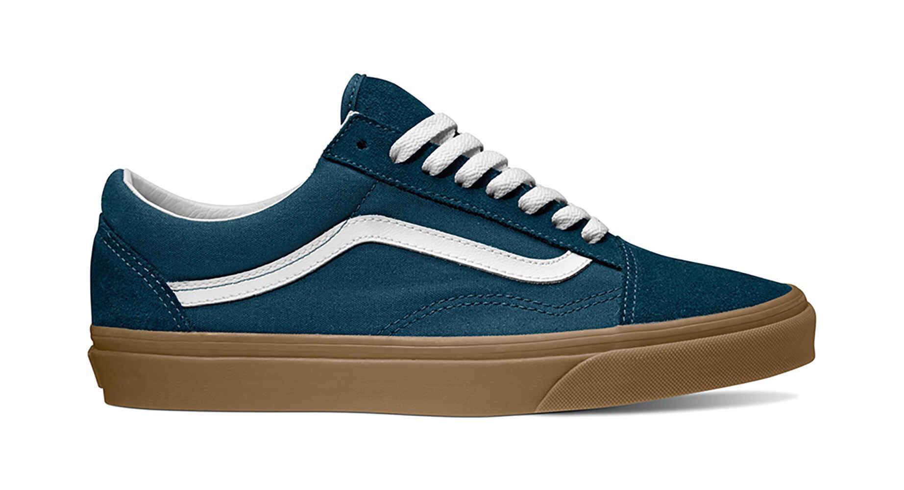 VANS OLD SKOOL SHOE - REFLECTING POND BLUE  GUM - Footwear-Shoes   Sequence  Surf Shop - VANS W18 7569a28d3