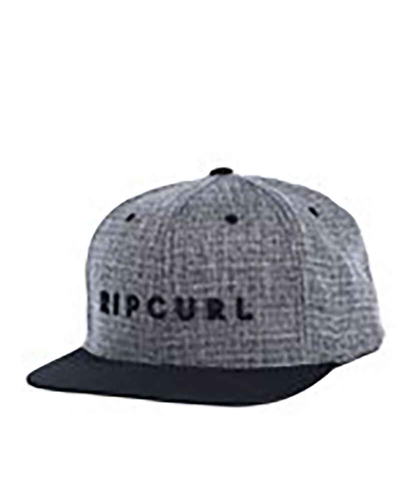 RIPCURL BOYS VALLEY BADGE SNAPBACK CAP - BLACK - Youth -Accessories    Sequence Surf Shop - RIP CURL S18 7c073d5b1678