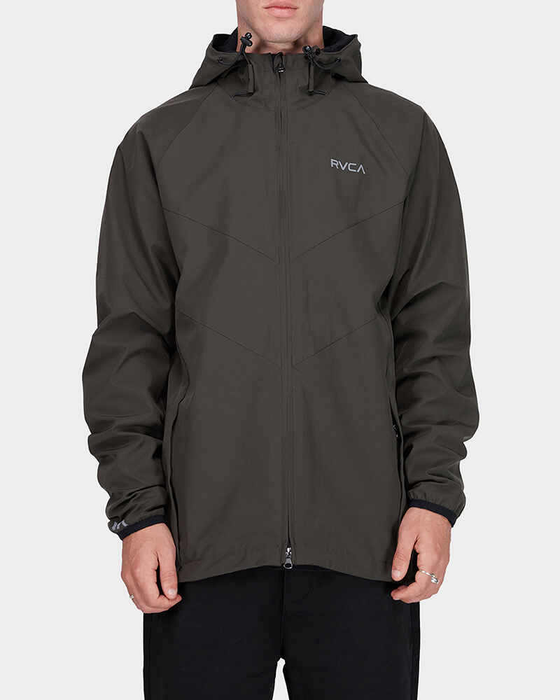 ddc6cf533 RVCA MENS VA WINDBREAKER JACKET - MILITARY - Mens-Tops : Sequence Surf Shop  - RPM W18