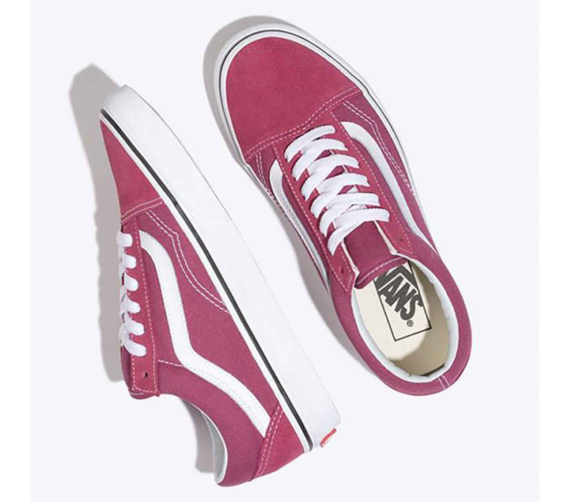 1aa9e637f9585e VANS OLD SKOOL SHOE - DRY ROSE TRUE WHITE - Footwear-Shoes ...