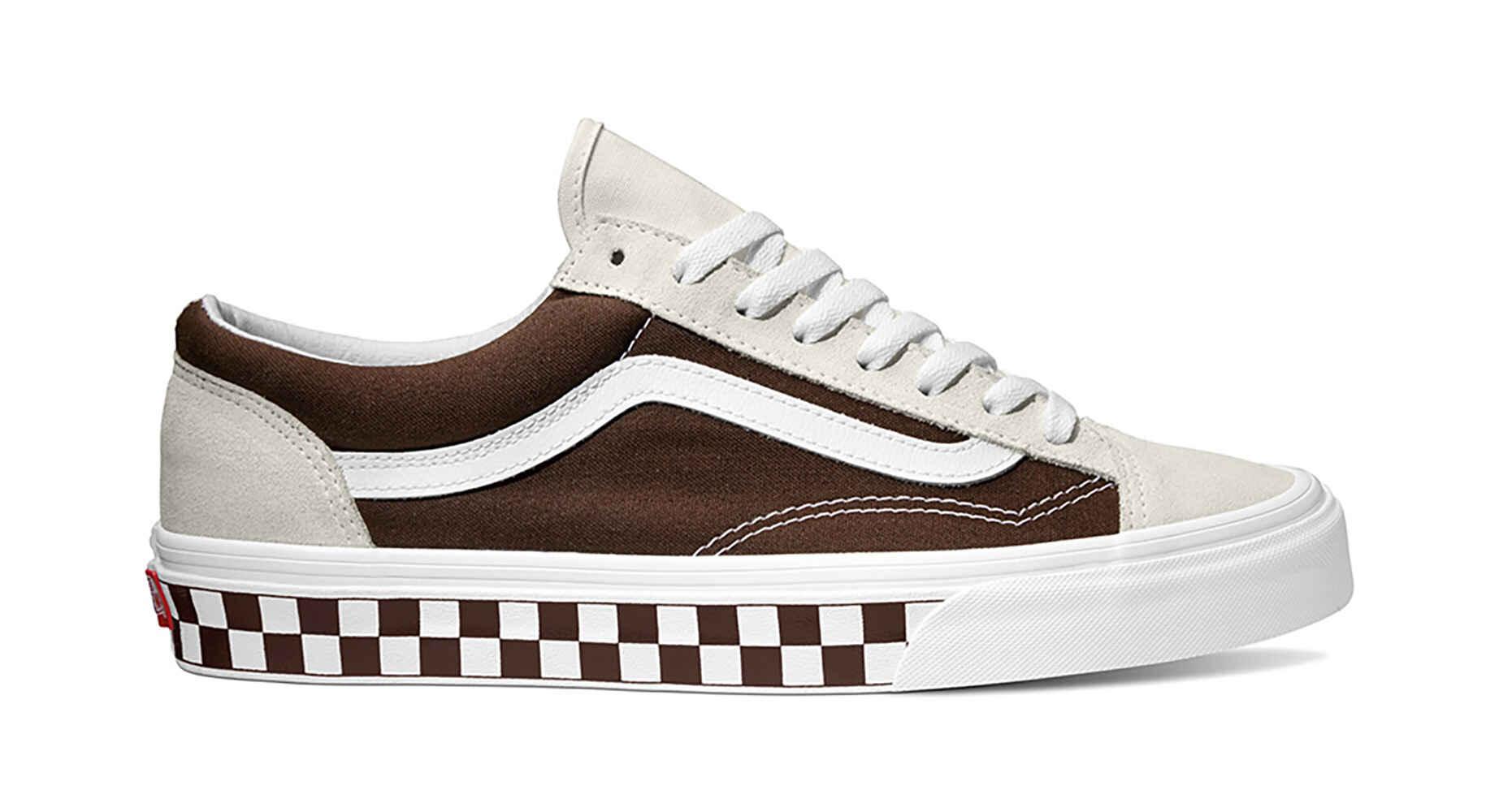 56bdab9f228ee6 WHITEBROWN 36 Footwear CHECKERBOARD SHOE STYLE BMX VANS Shoes XZCqxS5w