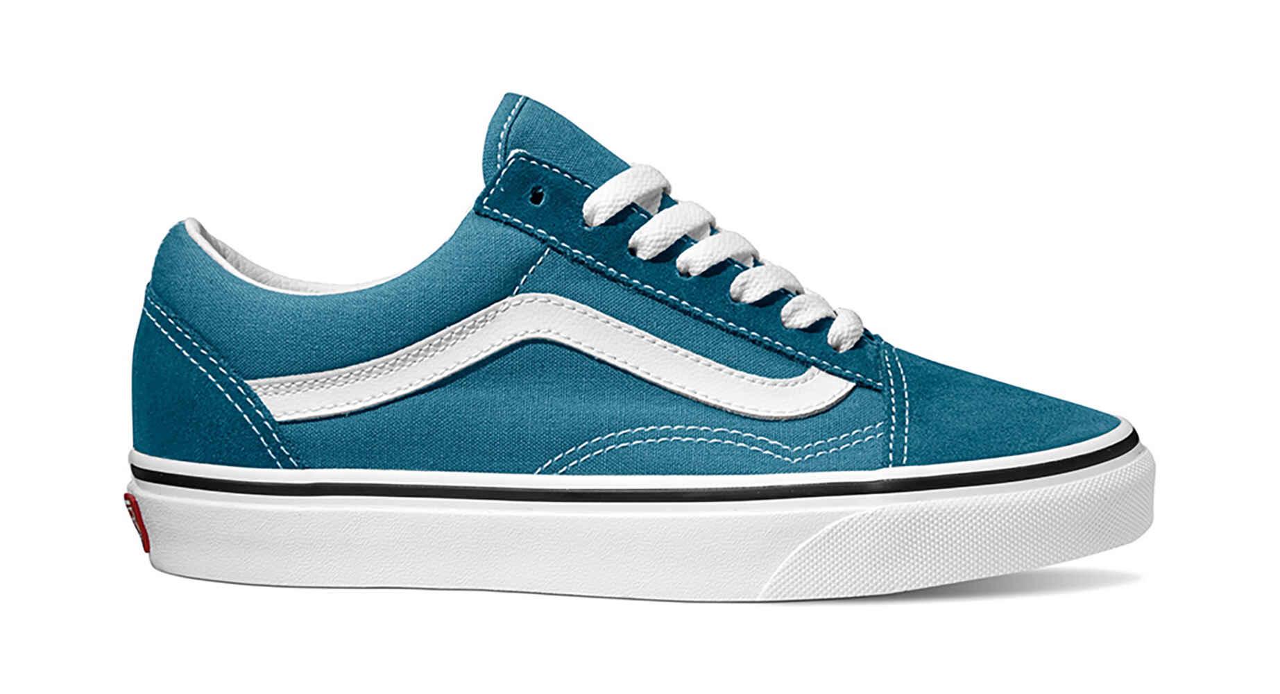 d5070006bd VANS OLD SKOOL SHOE - CORSAIR BLUE TRUE WHITE - Footwear-Shoes   Sequence  Surf Shop - VANS S18