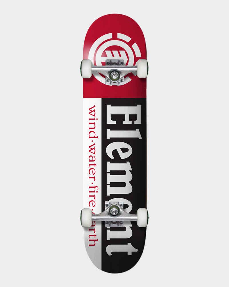 ELEMENT SECTION COMPLETE SKATE BOARD - 8 25 - Skate