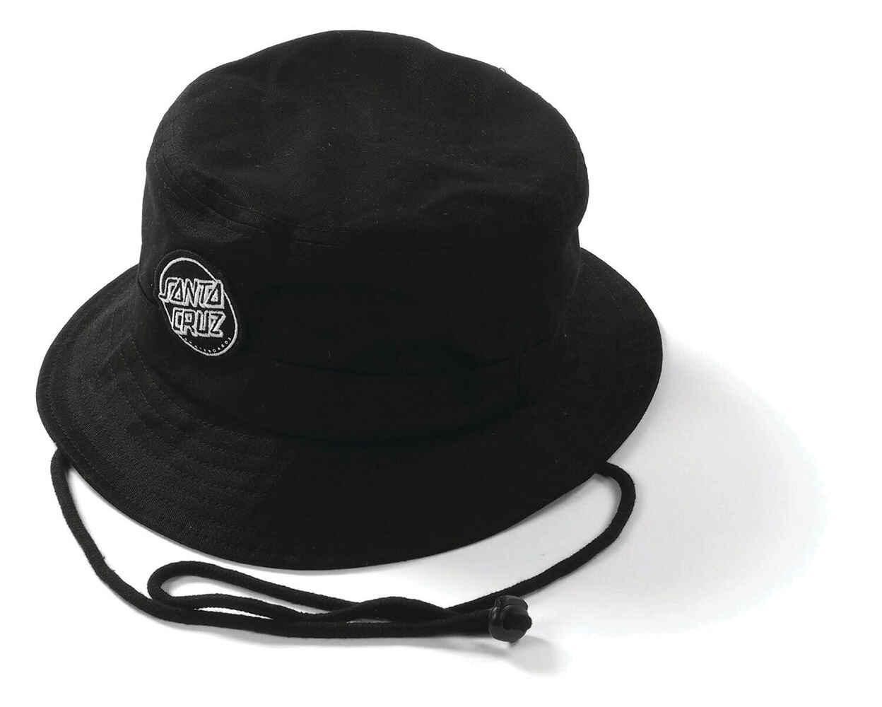 Santa Cruz Aptos 2 Bucket Hat Black Mens Accessories Sequence