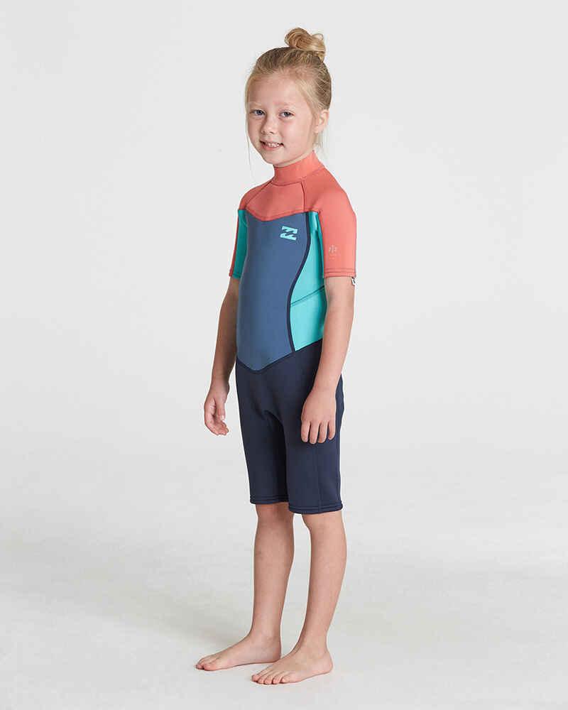 59c1a9b71e BILLABONG TODDLER GIRLS 2MM SYNERGY BACKZIP SPRINGSUIT - Wetsuits-Girls    Sequence Surf Shop - BILLABONG GIRLS S18