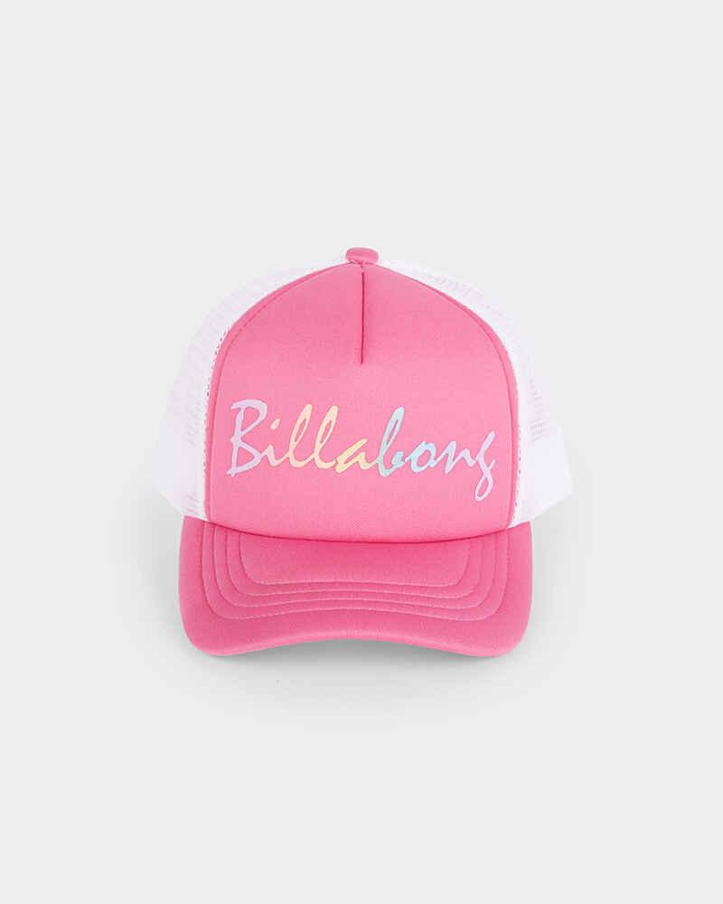 408d7c2c11a ... norway billabong girls lets play trucker cap tahiti pink 874dc a61a4