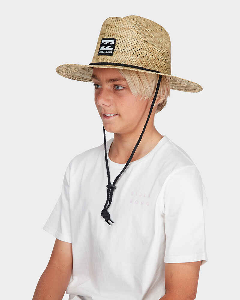 bf8def01 BILLABONG BOYS TIDES STRAW HAT - NATURAL - Youth -Accessories ...