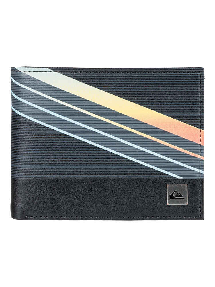 84c133c6 QUIKSILVER FRESHNESS II WALLET - BLACK - Mens-Accessories : Sequence Surf  Shop - QUIKSILVER S18