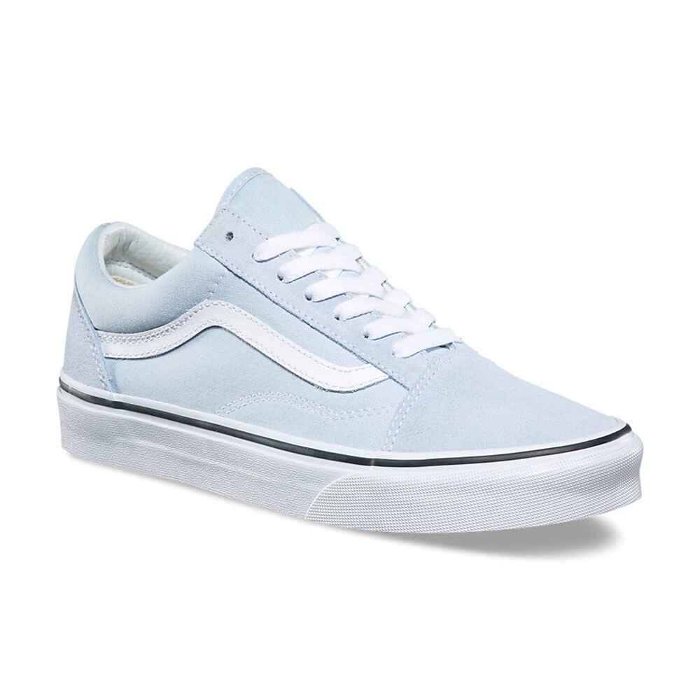 250d9d49660 VANS OLD SKOOL SHOE - BLUE FLOWER   TRUE WHITE - Footwear-Shoes ...