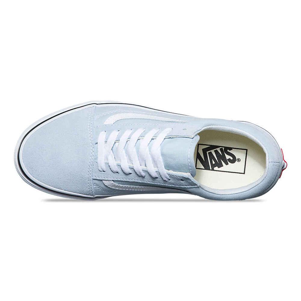 ba368f32772 VANS OLD SKOOL SHOE - BLUE FLOWER   TRUE WHITE - Footwear-Shoes   Sequence  Surf Shop - VANS W18