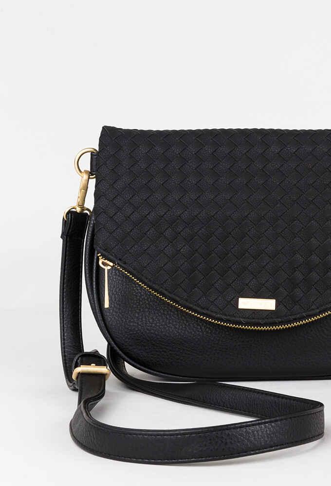36ce5ff591d RUSTY LADIES PIPER CROSSBODY SIDE BAG - BLACK - Womens-Accessories ...