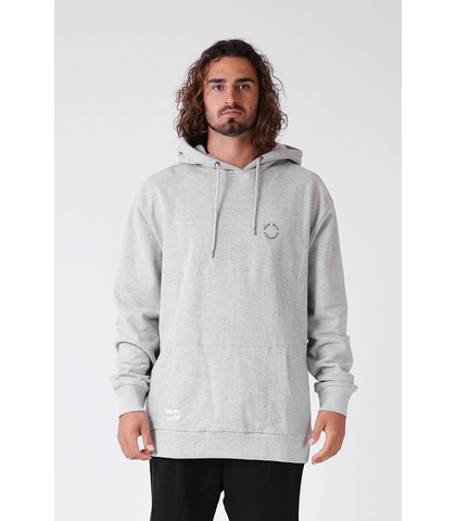 RPM MENS DAILY HOOD - GREY MARL