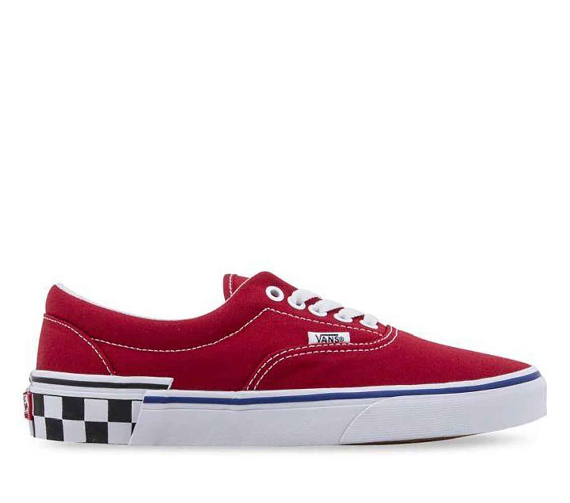 6aab8d5784 VANS ERA SHOE - CHECKER BOARD RED - Footwear-Shoes   Sequence Surf Shop -  VANS W19