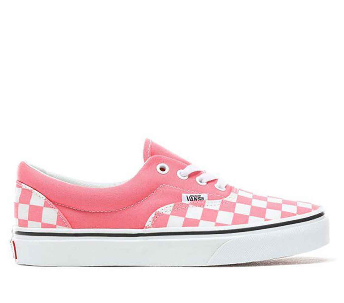 1345feef33e327 VANS ERA SHOE - CHECKERBOARD - PINK   WHITE - Footwear-Shoes   Sequence  Surf Shop - VANS W19