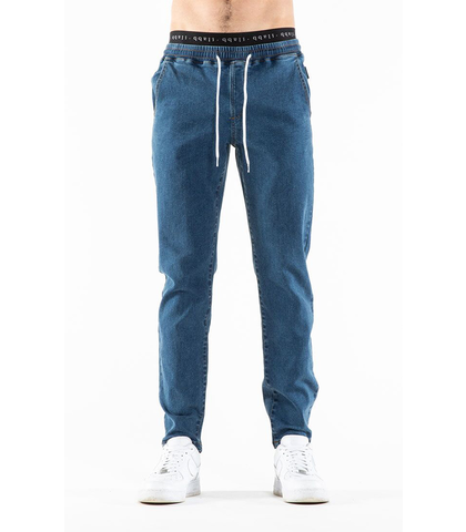 ILABB MENS EASY PANT - BLUE