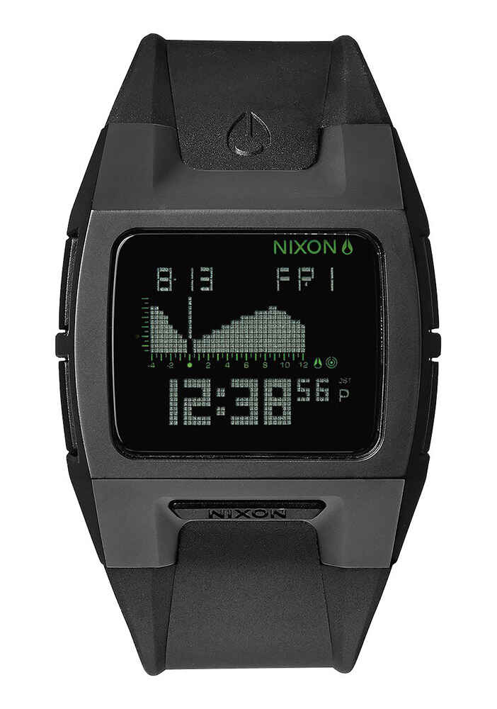 NIXON LODOWN TI II WATCH BLACK Mens Watches : Sequence
