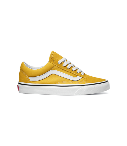 VANS OLD SKOOL SHOE - YOLK YELLOW / TRUE WHITE