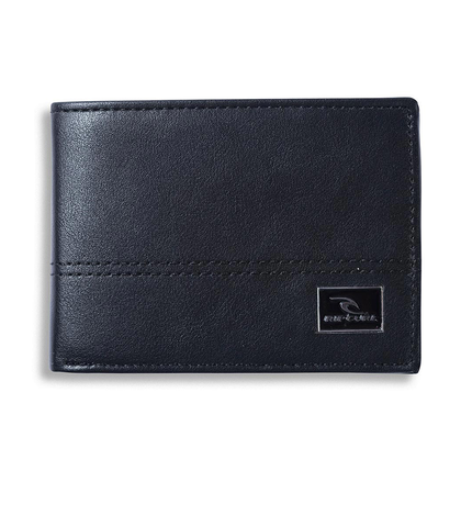 RIPCURL CORPAWATU ICON PU SLIM WALLET - BLACK