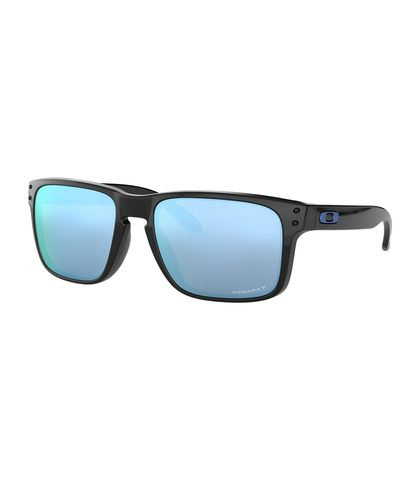 OAKLEY HOLBROOK - POLISHED BLACK / PRIZM DEEP H20 POLARIZED