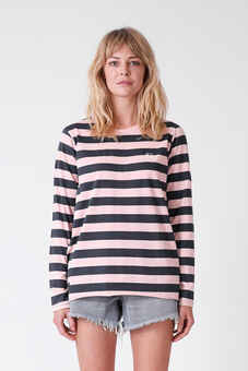 11c83e38ca5f ... RPM LADIES MACY L/S TEE - NAVY / PINK-womens-Sequence Surf