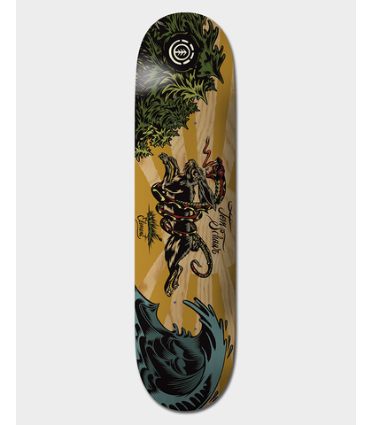 ELEMENT SCHAAR WILD HARE DECK - 8.0