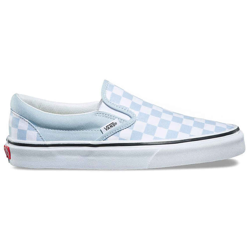7677b72d7d6 VANS CLASSIC SLIP ON - CHECKERBOARD BABY BLUE  WHITE - Footwear-Shoes    Sequence Surf Shop - VANS W18